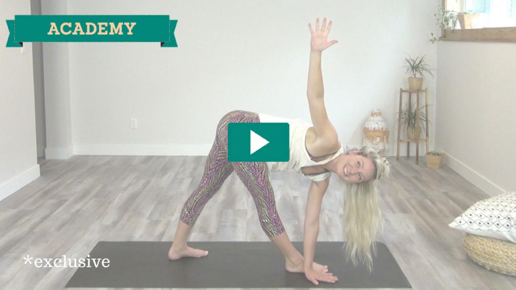 yoga class by laura martini